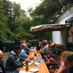 Grillfest mit den ERG-Nasen