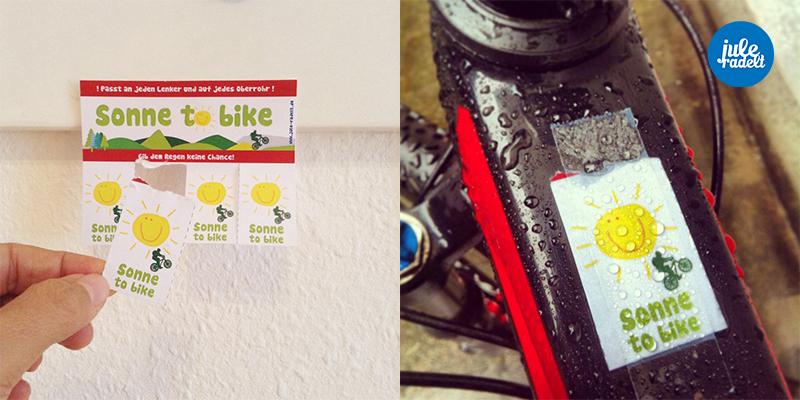 sonne to bike